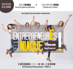 """Lancement """"Les entrepreneurEs de la Niaque!"""""""